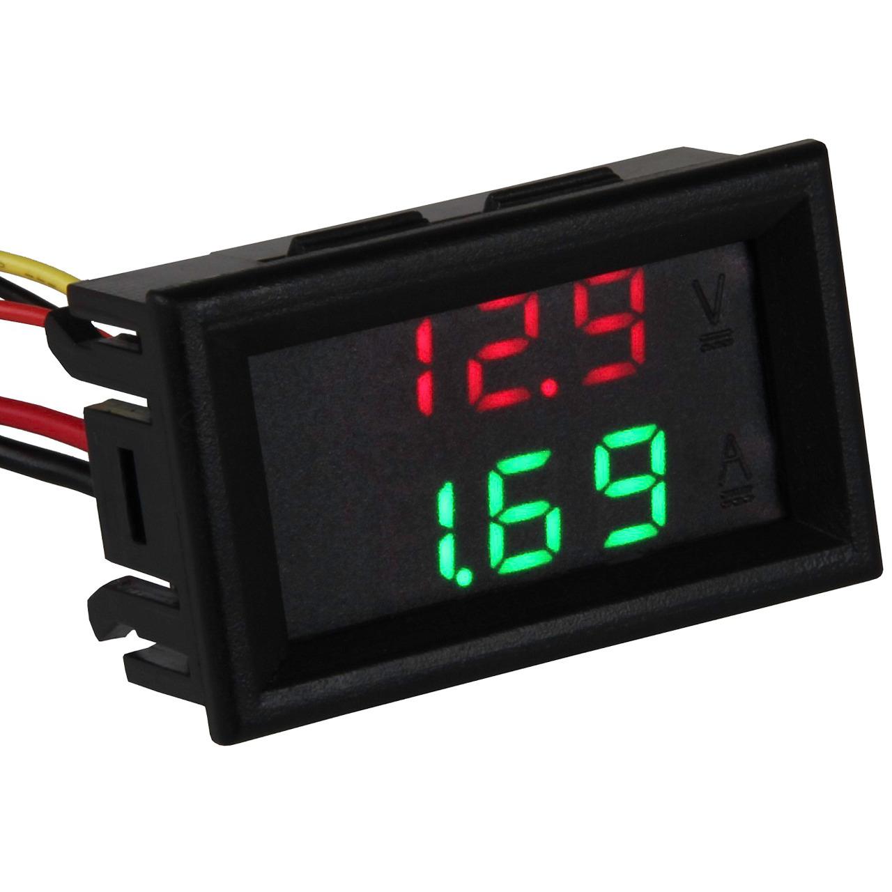 Joy-IT LED-Spannungs- und Strommessgerät