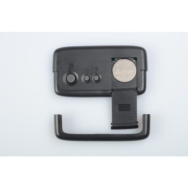 Needit 2er-Spar-Set Digitale Parkscheibe PARK MICRO, automatische Parkzeiteinstellung, blau
