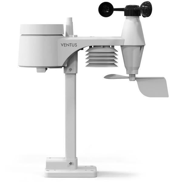 Ventus WiFi-Wetterstation W832 mit Raumklimafunktion, inkl. Funk-Außensensor (868 MHz), App