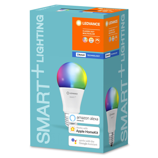 Ledvance SMART+ (Bluetooth) 10-W-RGBW-LED-Lampe E27