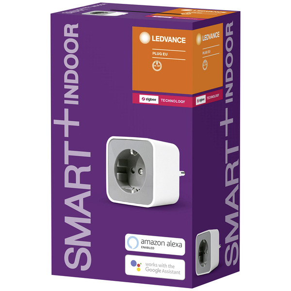 Ledvance SMART+ Funkschaltsteckdose,3680 W (16 A), ZigBee, Amazon Alexa/Google Assistant/Philips Hue