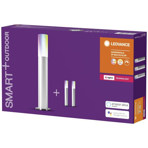 Ledvance SMART+ Erweiterung RGB-LED-Lichterkette, 3 Gardenpoles, Gesamtlänge 6,0 m, ZigBee