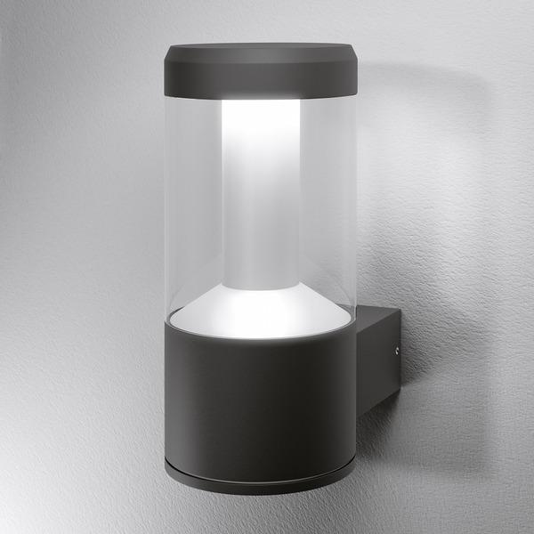 "Ledvance SMART+ 12-W-RGBW-LED-Wandleuchte ""Outdoor Lantern"", 24 cm, ZigBee"