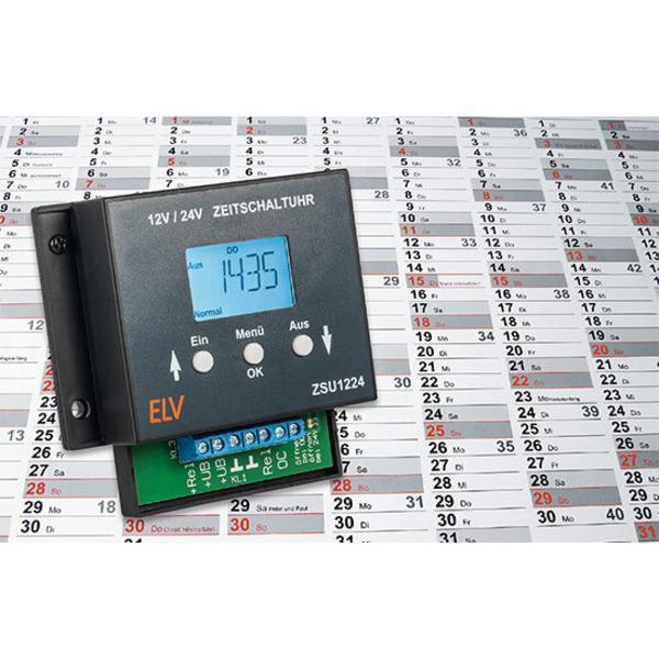 Schalten und walten - Zeitschaltuhr ZSU1224 für den Niederspannungsbereich