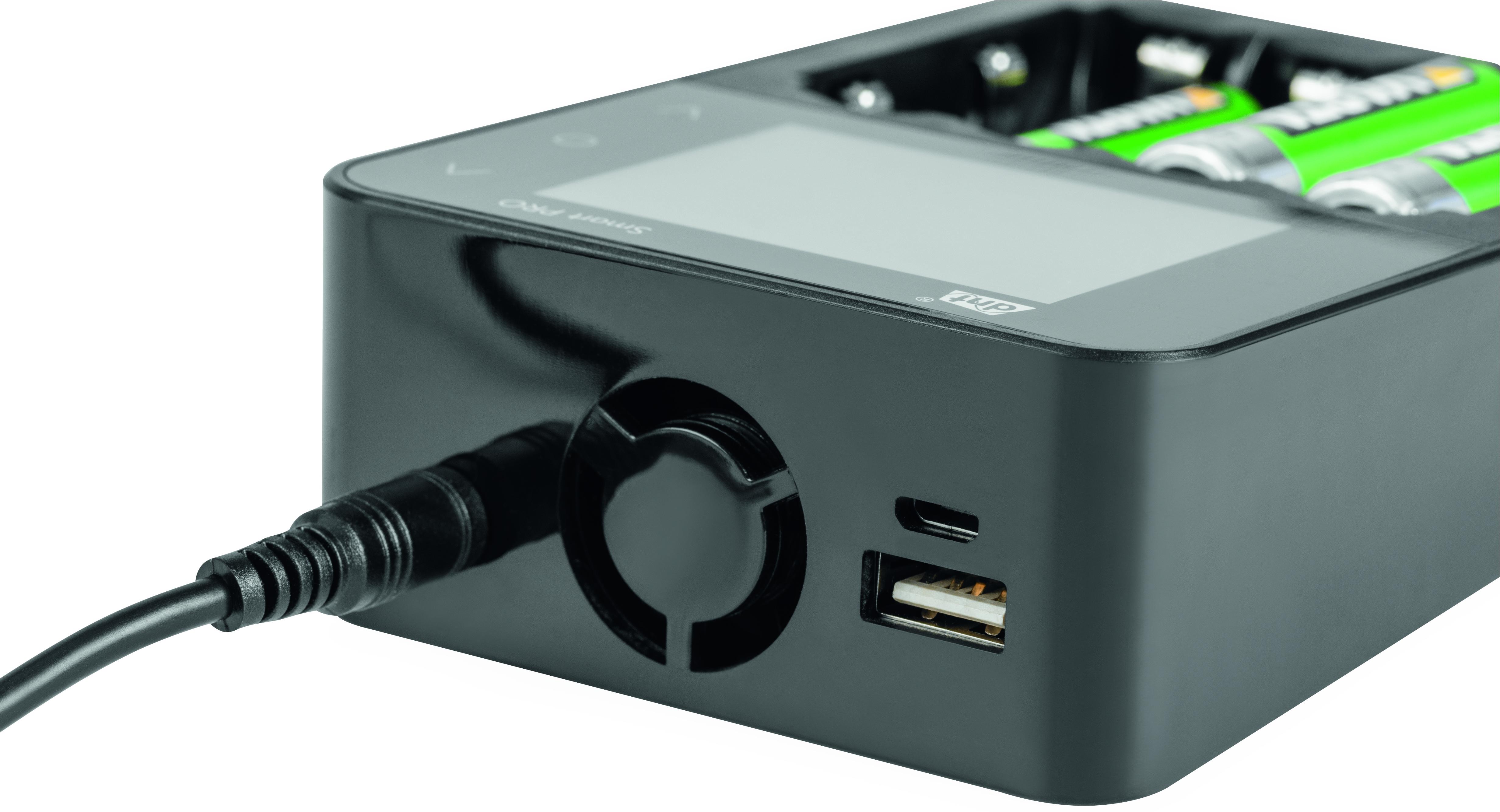 dnt Akku Ladegerät Smart PRO, mit Farbdisplay | Ladegeräte