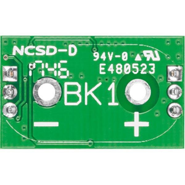 Spannungs-Spezialist - Batteriehalter-Aufsteckplatine BAP5