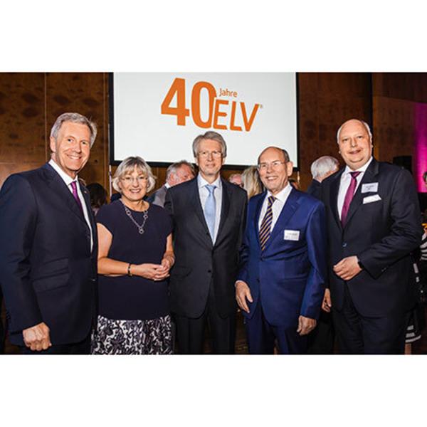 40 Jahre Innovation - Feier zum ELV Firmenjubiläum