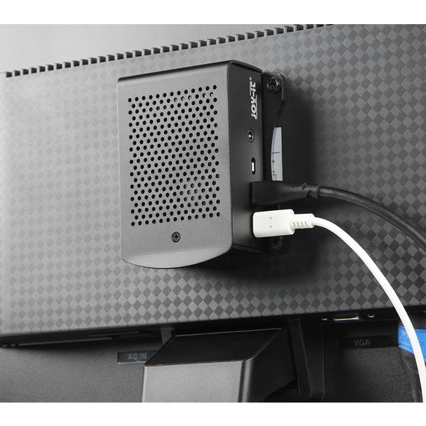 Raspberry Pi 4 B Mini-Linux-PC-KIT, 4 GB RAM, komplett montiert und betriebsbereit
