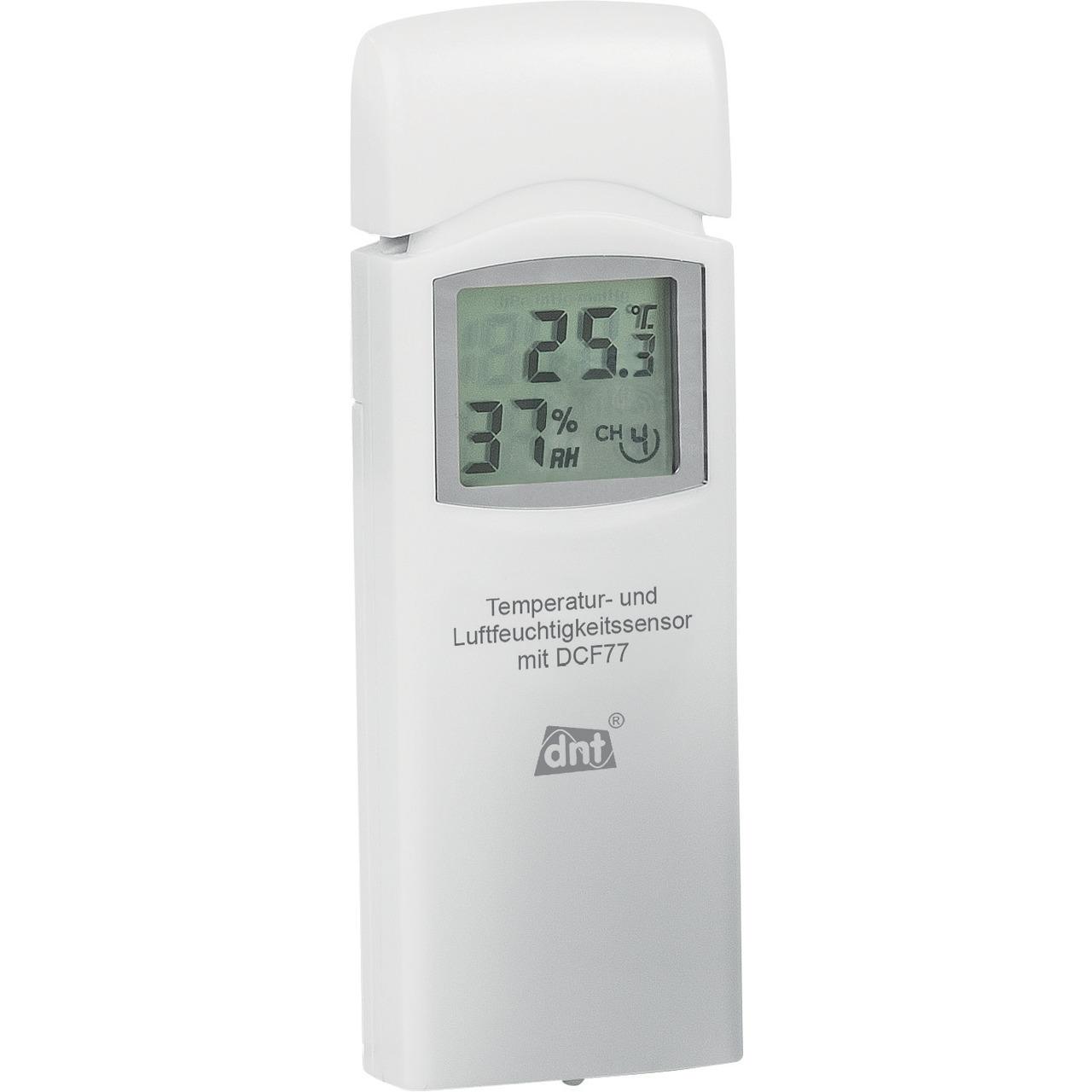 dnt Zusatz-Thermo-Hygrosensor DNT000005 für dnt RoomLogg PRO und dnt WeatherScreen PRO