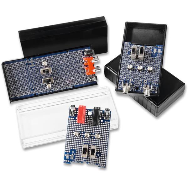 Schnell, komfortabel und sicher - Prototypenplatinen für ELV Gehäuse UniBox1 und Schiebegehäuse SG2