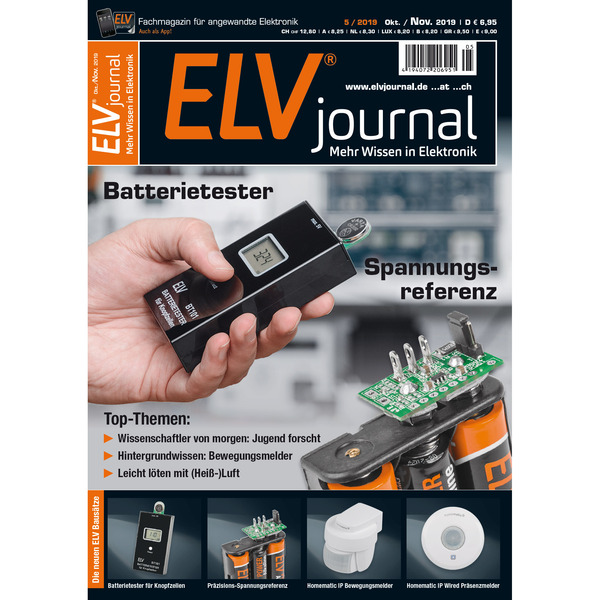ELVjournal Ausgabe 5/2019 Digital (PDF)