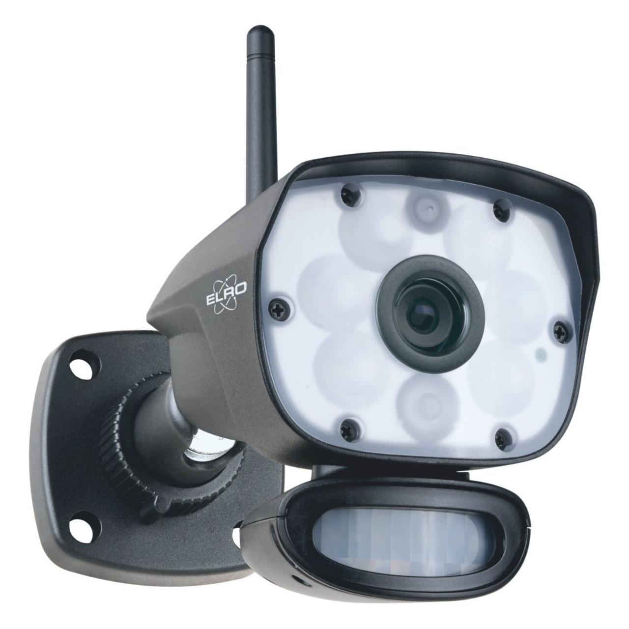 ELRO Funk-Zusatzkamera CC60RXX11- Full-HD (1080p) - geeignet für Funk-Kamerasystem CZ60RIP11S