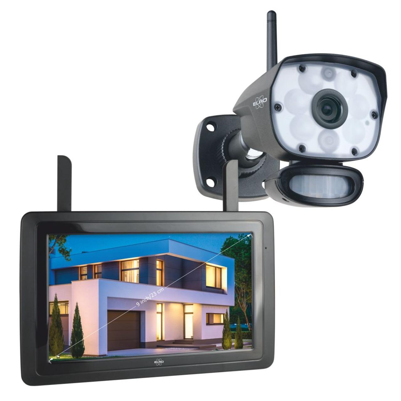 ELRO Funk-Kamerasystem CZ60RIP11S- inkl- Touch-Display (9)- App-Steuerung- 1080p (Full-HD)