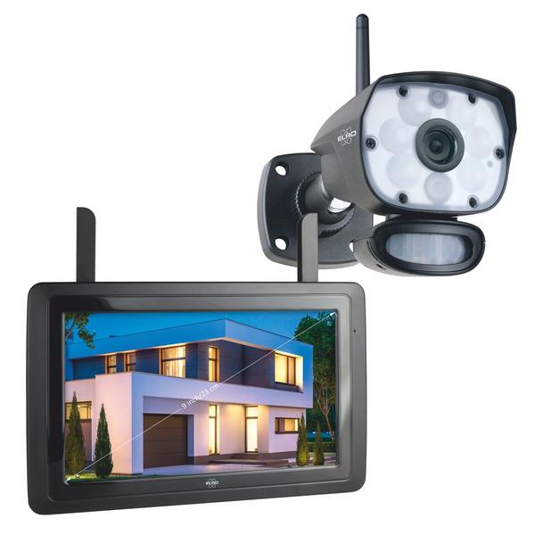 "ELRO Funk-Kamerasystem CZ60RIP11S, inkl. Touch-Display (9""), App-Steuerung, 1080p (Full-HD)"