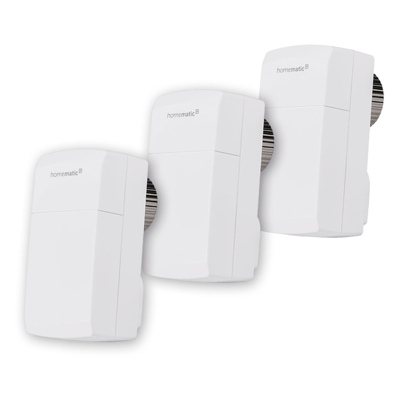 Homematic IP Smart Home 3er Set Heizkörperthermostat kompakt HmIP-eTRV-C inkl- Demontageschutz