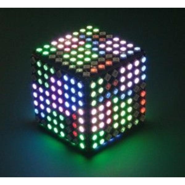 LED-Würfel Polonium Cube, programmierbar, Bausatz