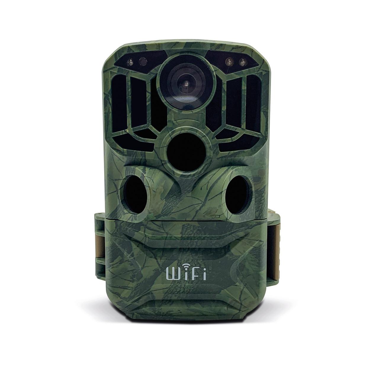 Braun Fotofalle - Wildkamera Scouting Cam Black800 WiFi- 24 MP- 1296p- IP66- Auslösezeit 0-6s
