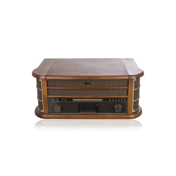 Dual Nostalgie-Stereo-Musikcenter NR 50 DAB, UKW/DAB+, USB, CD-Player, Kassettenlaufwerk