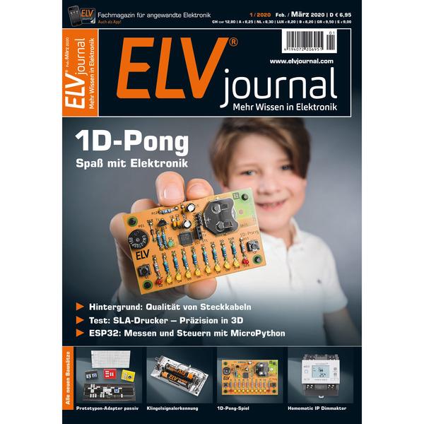 ELVjournal Ausgabe 1/2020 Digital (PDF)