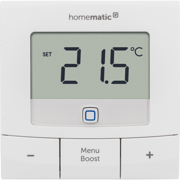 Homematic IP Smart Home Set Heizen Basic XS mit 2x Heizkörperthermostat und 1x Wandthermostat