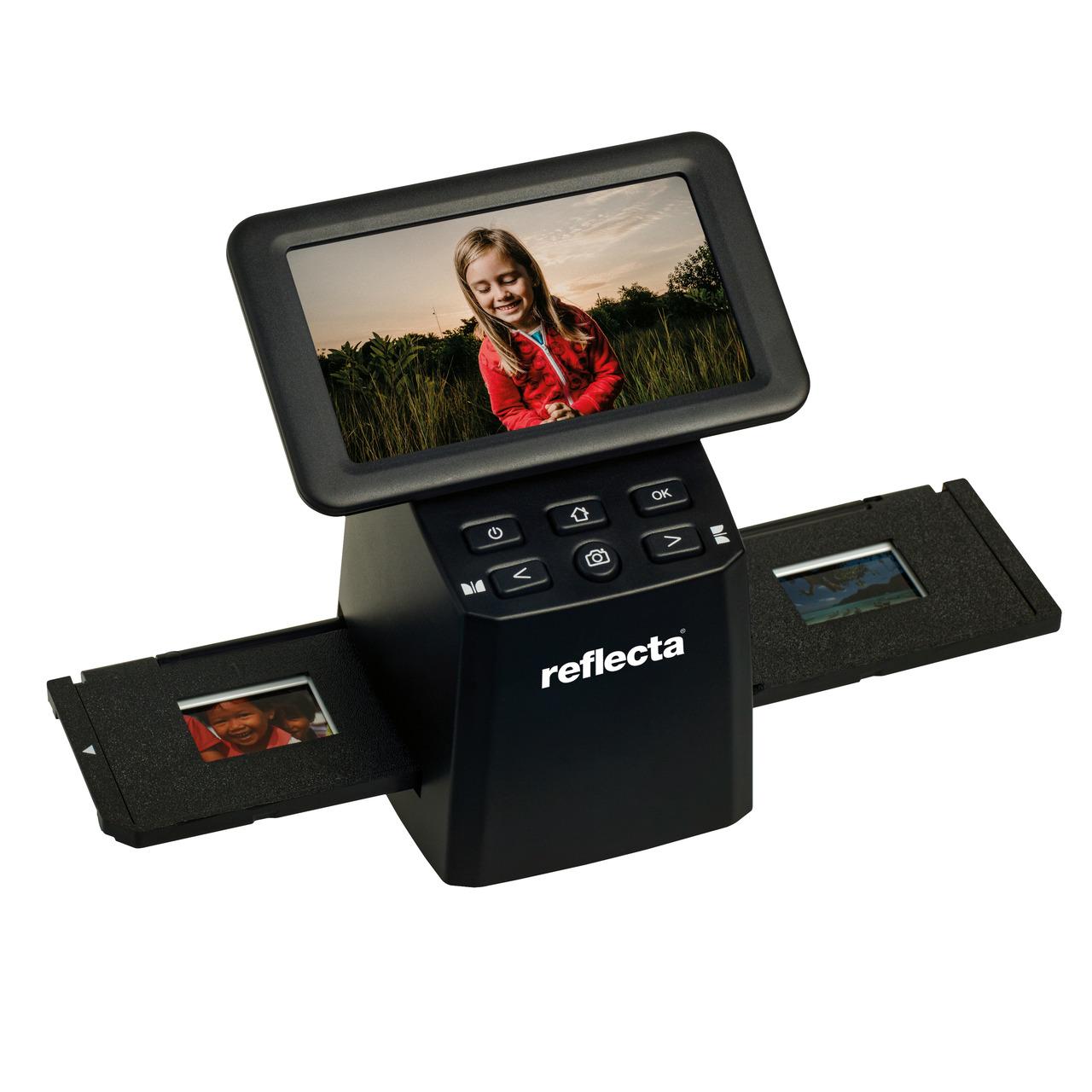 reflecta Dia-Negativscanner x33-Scan- 15-3 Megapixel- IPS-Display 12-7 cm (5)- RGB-Farbanpassung