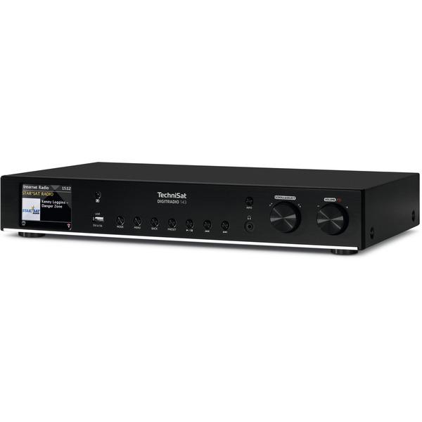 TechniSat Radio-HiFi-Tuner DigitRadio 143, DAB+/UKW/Internetradio, USB, Bluetooth