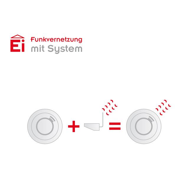 Ei Electronics Ein-/Ausgangsverbindungsmodul Ei414 für vernetzbare Ei-Electronics-Warnmelder