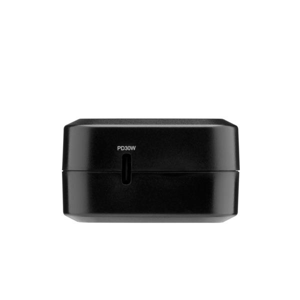 3SIXT USB-C-Steckernetzteil mit Schnelllade-Funktion (Power Delivery) 30 W, schwarz