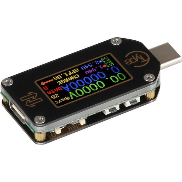 Joy-IT-USB-Typ-C-Messgerät JT-TC66C, unterstützt Power Delivery und Quick Charge