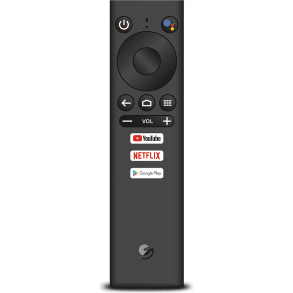Ematic 4K Android TV Media Player SRT202, Ultra HD, Android 9, Sprachsteuerung via Google Assistant
