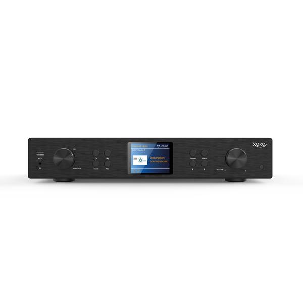 XORO Radio-Hi-Fi-Tuner HFT 440, DAB+/UKW/Internetradio, USB, Bluetooth, Spotify, App