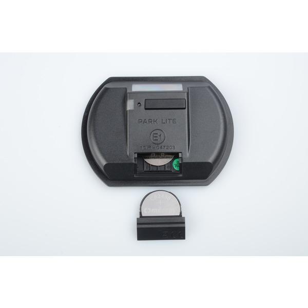 Needit 2er-Spar-Set Digitale Parkscheibe PARK LITE, automatische Parkzeiteinstellung, schwarz