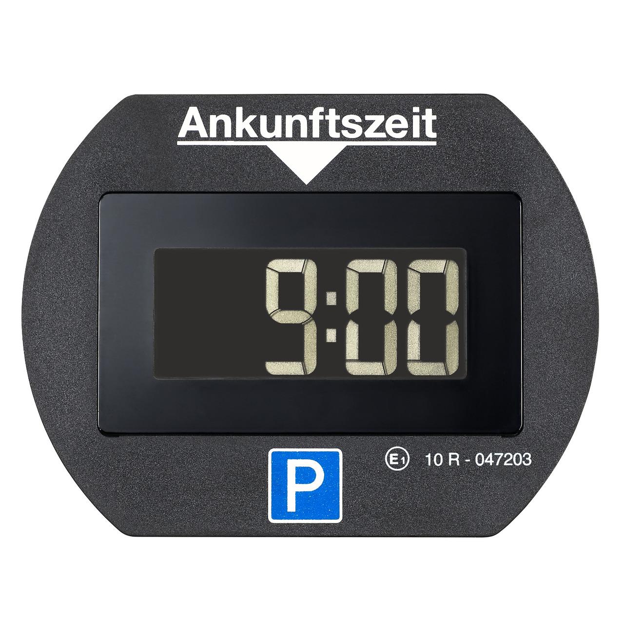 Needit Digitale Parkscheibe PARK LITE- automatische Parkzeiteinstellung- schwarz