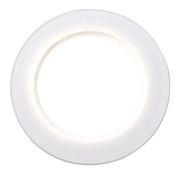 HEITRONIC 3er-Spar-Set LED-Einbaustrahler DL7002 mit Kunststoffringen, warmweiß, dimmbar, IP65