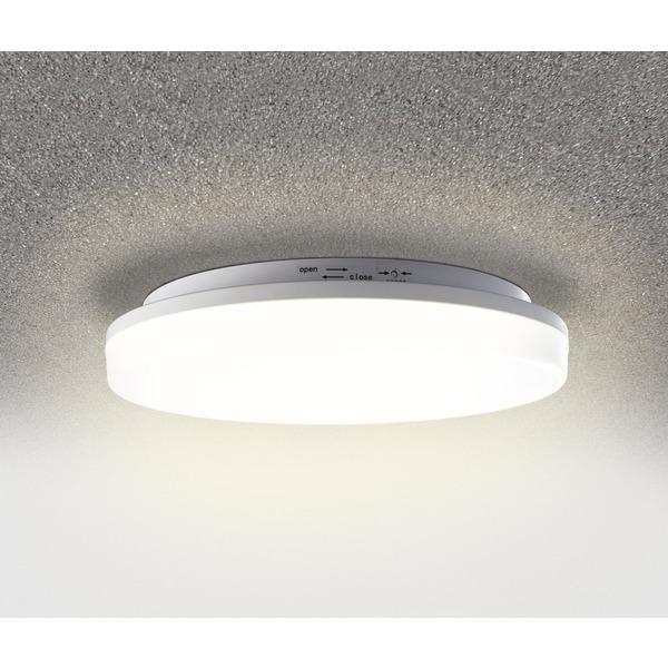 HEITRONIC 24-W-LED-Wand-/Deckenleuchte Pronto mit Bajonett-Anschluss, rund, warmweiß, IP54