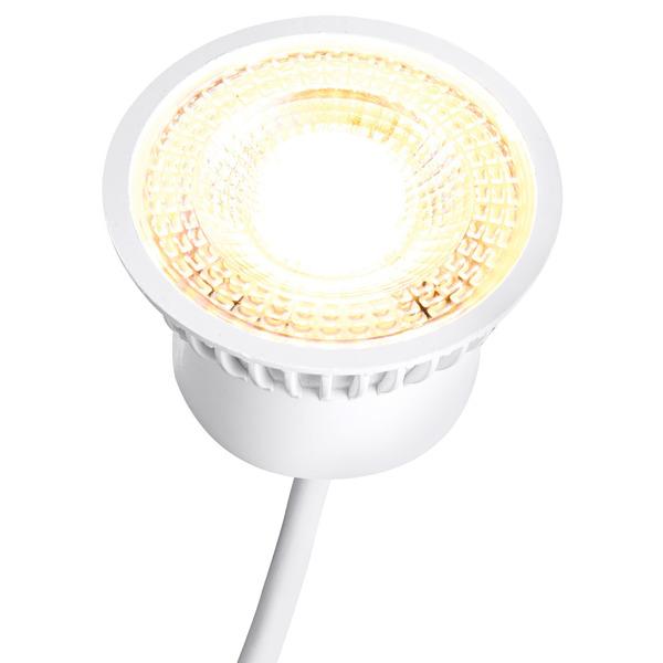 HEITRONIC 5-W-LED-Modul für Standard-GU10-GU5.3-Fassungen, 3fach dimmbar per Lichtschalter, warmweiß