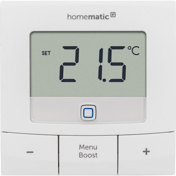 Homematic IP Smart Home Set Heizen Basic XXS mit 1x Heizkörperthermostat und 1x Wandthermostat