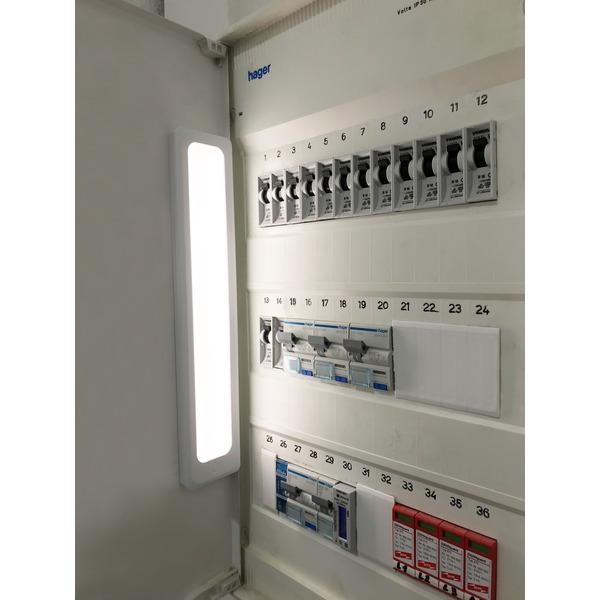 Megatron Akkubetriebene 1,5-W-LED-Unterbau-/Schrankleuchte Casa, warm-/neutralweiß