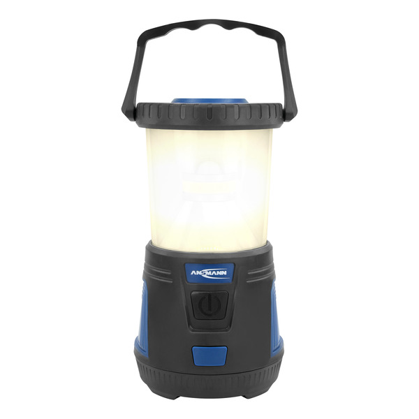 Ansmann 15-W-LED-Campingleuchte / LED-Laterne CL600B, 600 lm, Batterie-/Akku-Betrieb, IPX4