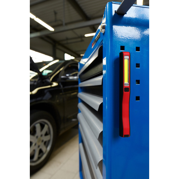 Ansmann Arbeitsleuchte/Inspektionsleuchte IL150B, 150 lm, mit Haltemagneten, Batteriebetrieb, IP54