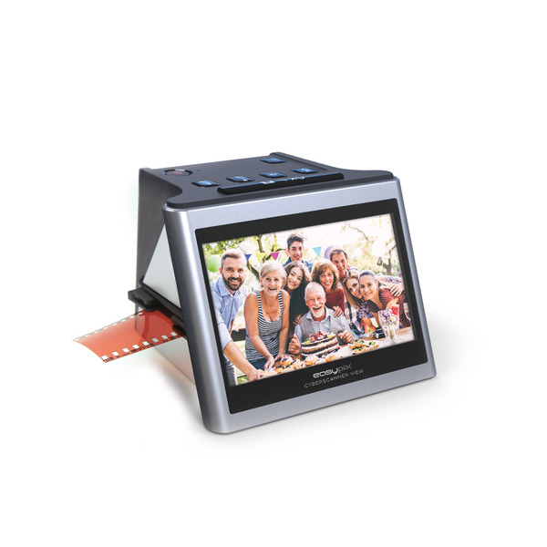 "EASYPIX Dia-/Negativscanner Cyberscanner View, 14 MP, 12,7-cm-IPS-Display (5""), RGB-Farbanpassung"