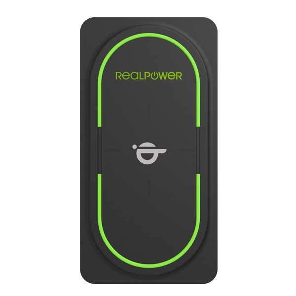 RealPower Qi-Powerbank PB-10000, mit 10.000 mAh und Power Delivery, USB-Typ-C