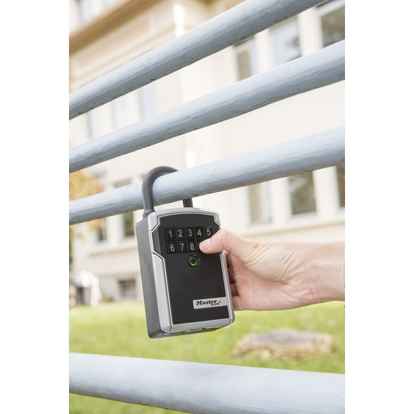 Master Lock Bluetooth-Schlüsselsafe mit Bügel 5440EURD Select Access SMART, Zugriff per Smartphone