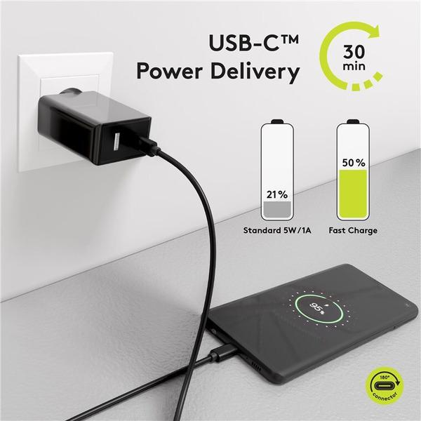 goobay USB-C PD Lade- und Synchronisationskabel 100 W, 50 cm