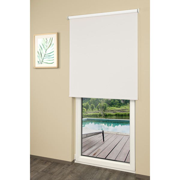 Erfal Smartcontrol Rollo by Homematic IP, 120 x 230 cm (B x H), halbtransparent tageslicht weiß