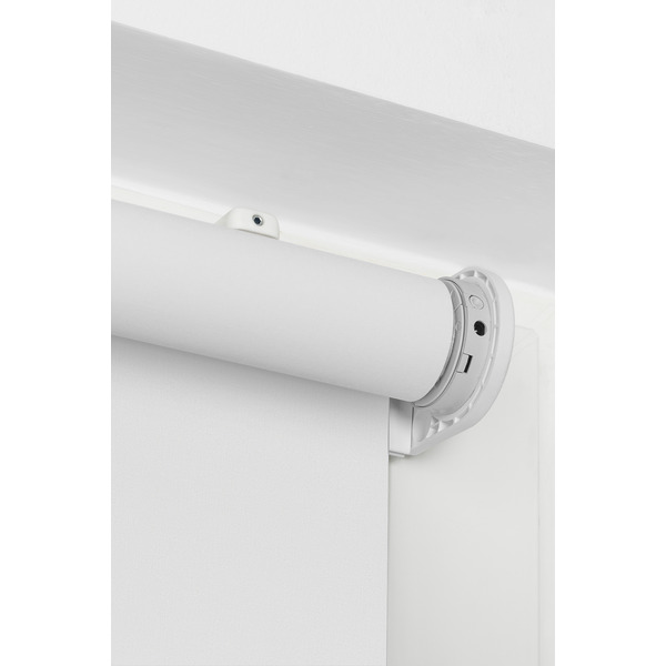 Erfal Smartcontrol Rollo by Homematic IP, 120 x 230 cm (B x H), halbtransparent tageslicht weiß