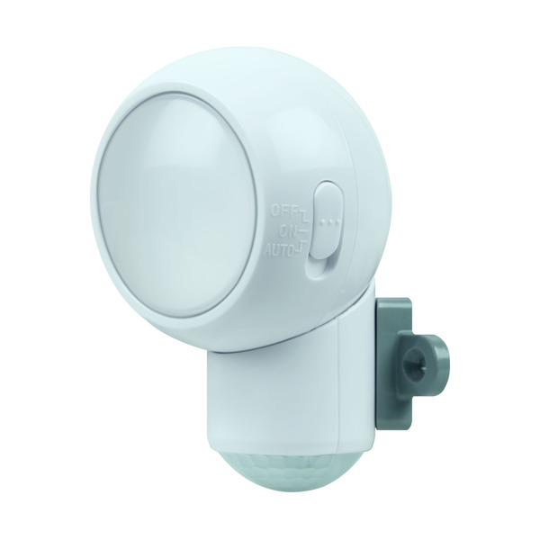 Ledvance Mobile Leuchte SPYLUX, mit Bewegungsmelder, batteriebetrieben, IP43
