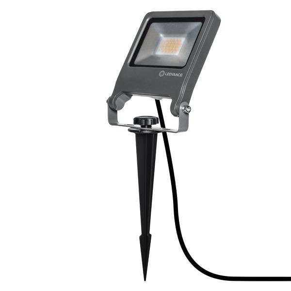 Ledvance 20-W-LED-Außen-Fluterleuchte ENDURA GARDEN FLOOD, mit Erdspieß, Plug-&-Play, IP65
