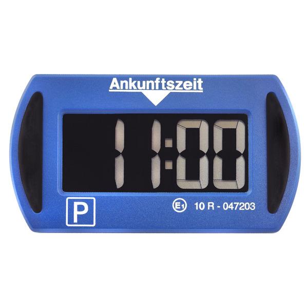 Needit Digitale Parkscheibe PARK MINI, automatische Parkzeiteinstellung, blau