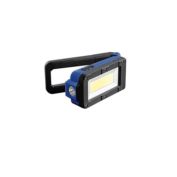 HEITRONIC Akku-LED-Arbeitsleuchte Darius, mit Standfuß, Magnet, 5000 K